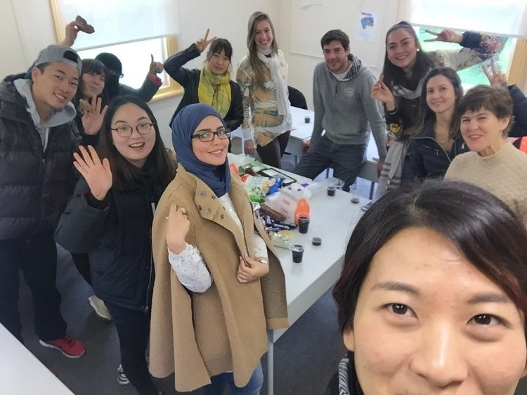 General English class in Auckland New Zealand - last day of term