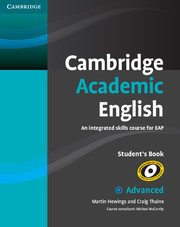 Cambridge Academic English Advanced book cover