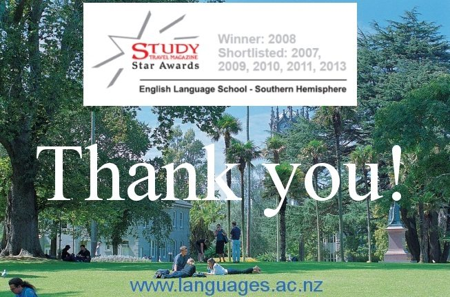 Best English school 2013 Southern Hemisphere shortlisting