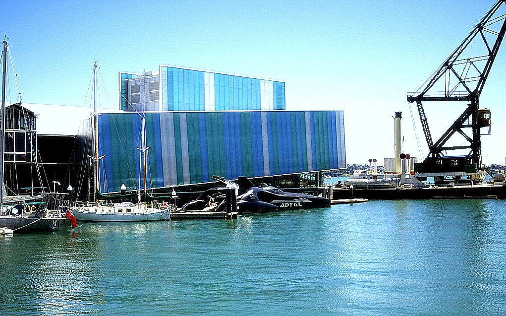 English school trip - Auckland Maritime Museum