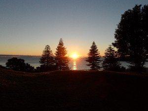 Sunrise at Mount Maunganui