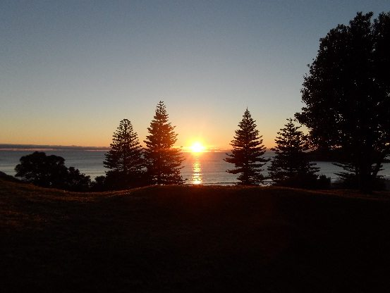 Sunrise at Mount Maunganui