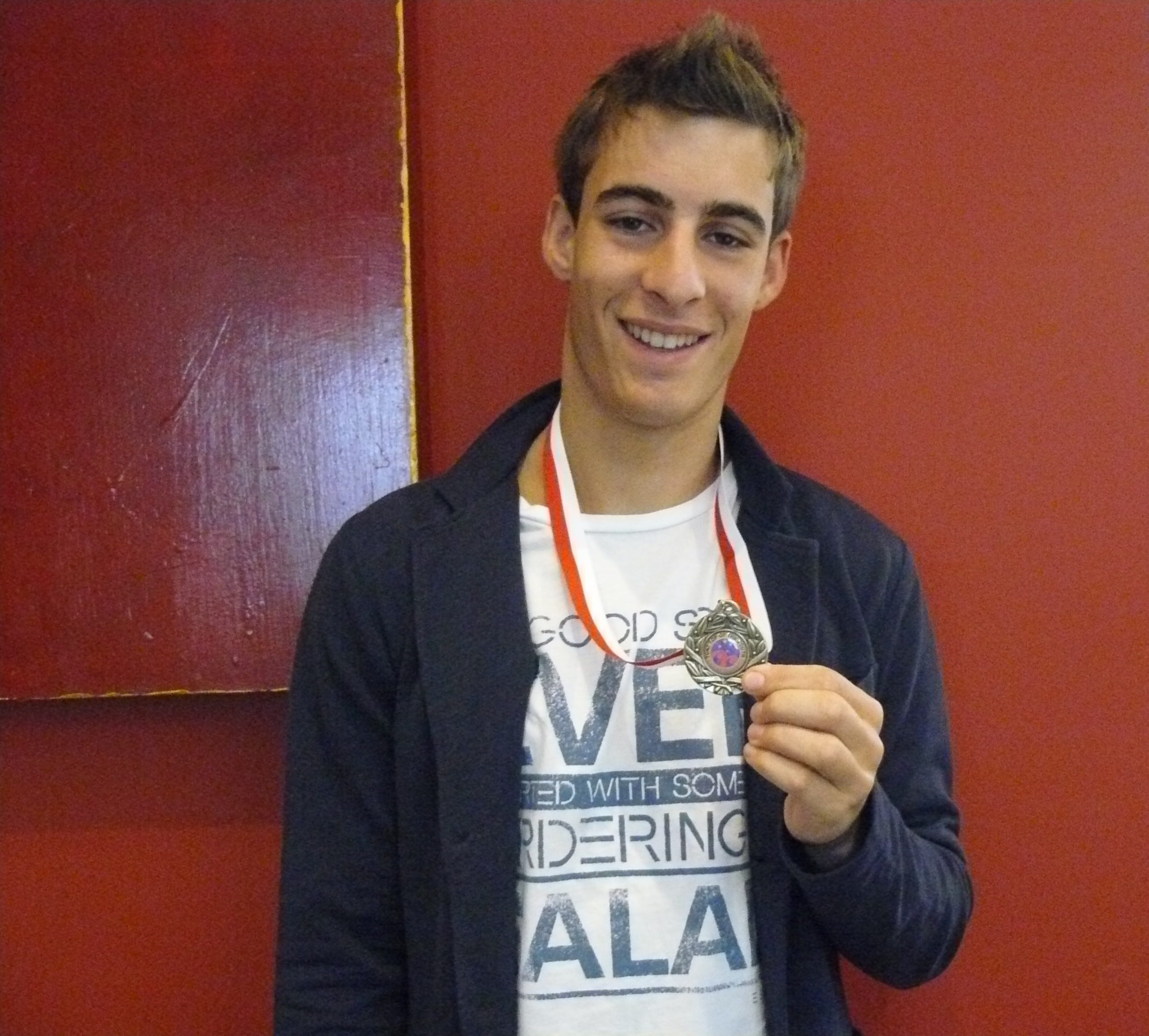 Victor Francey Taekwondo Champion