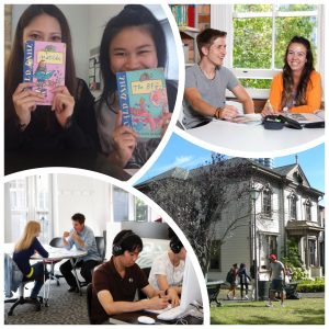 English courses in New Zealand