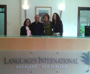 Daulet from Globus Education Kazakhstan at Languages International