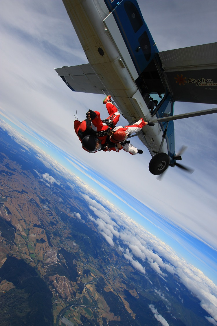 Marisa's English course + sky diving in New Zealand