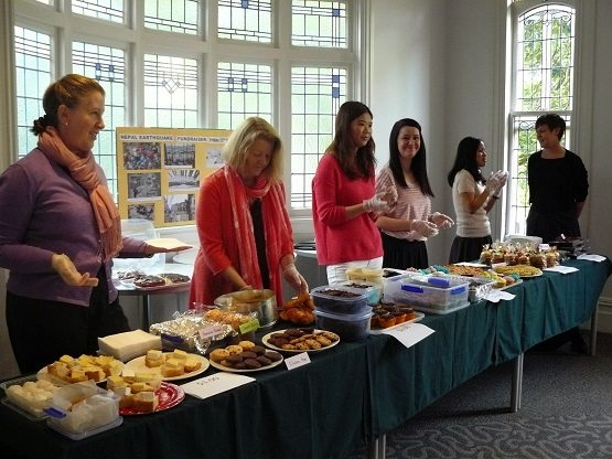 School bake sale to raise money for Nepal