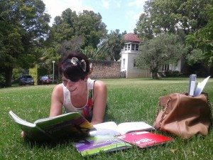 Tatiana Studying English in Auckland