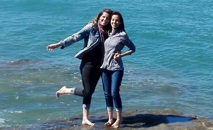 Ana y Emi en Auckland