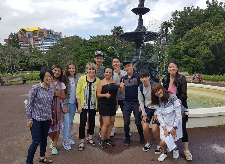 Séjour linguistique a Auckland en Nouvelle-Zélande