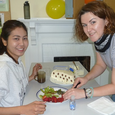Auckland New Zealand Pavlova decorating competition Team 2