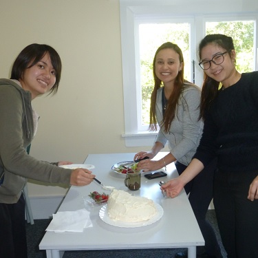 Auckland New Zealand Pavlova decorating competition Team 1