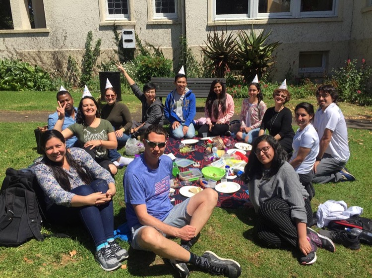 School BBQ at Languages International in Auckland, New Zealand