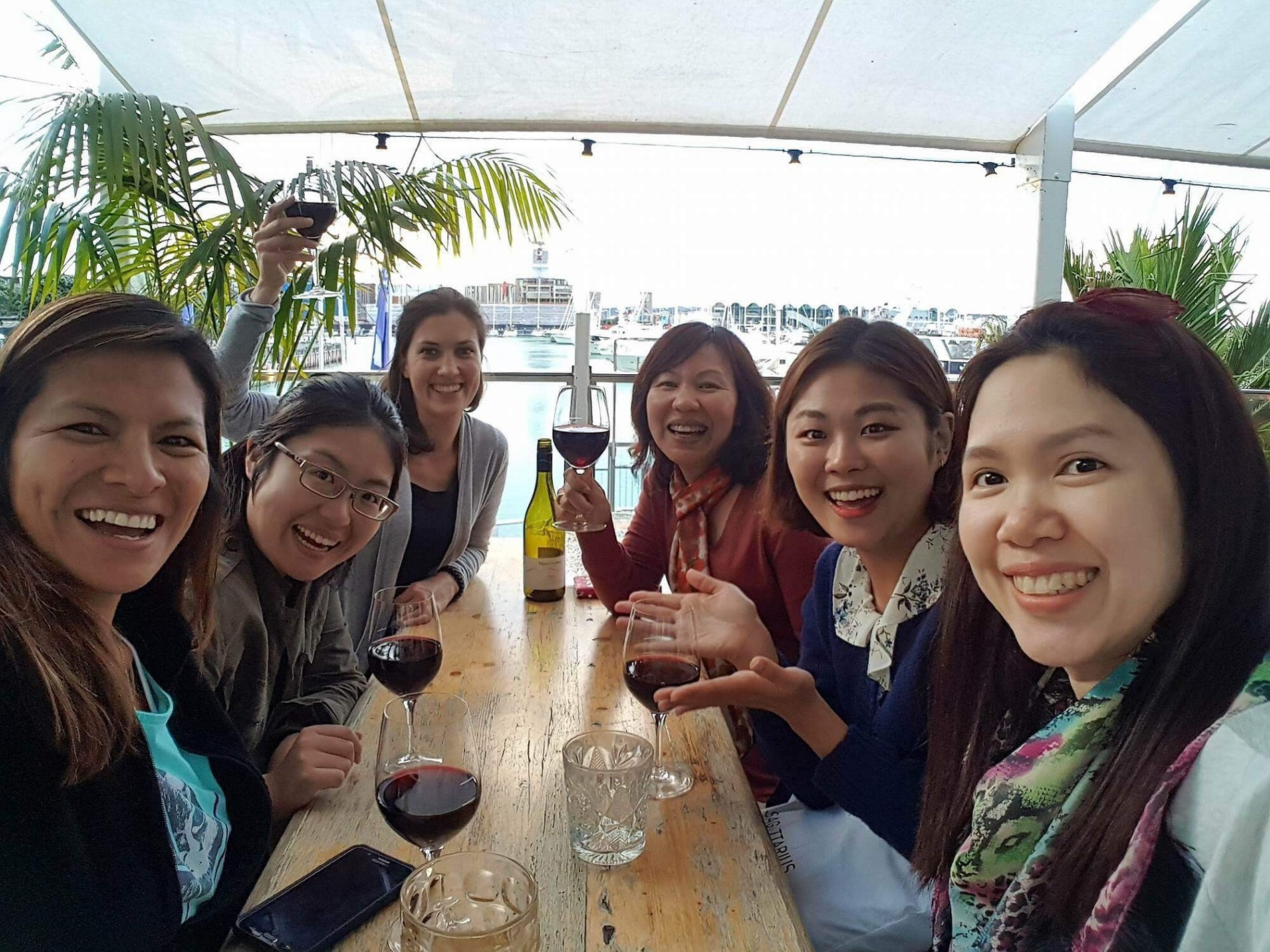 Thao's English course in New Zealand