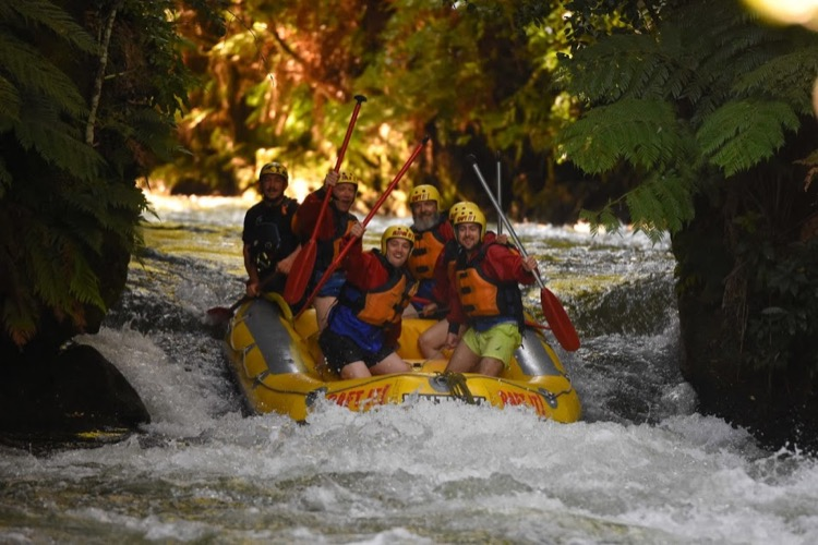 Rafting in New Zealand