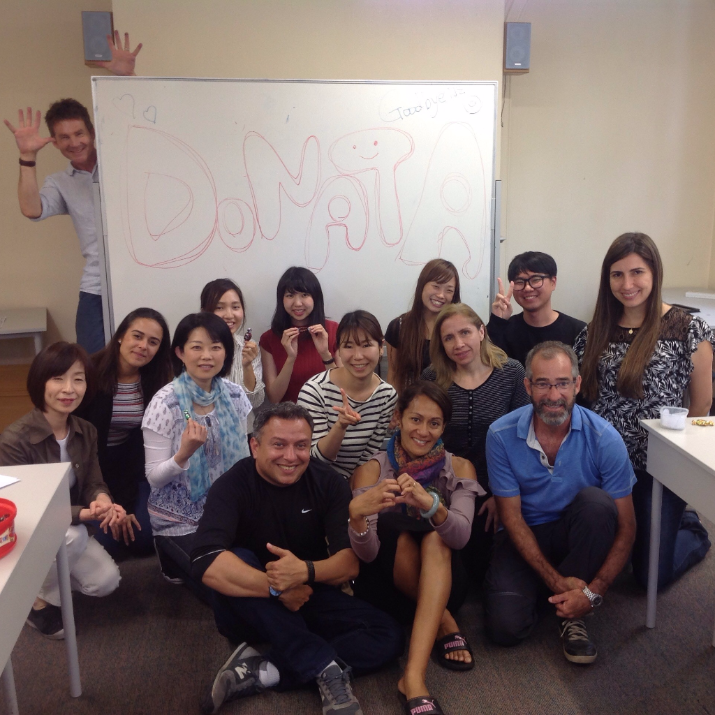 Donata's English course in New Zealand