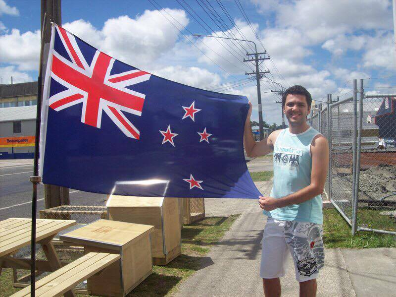 Fabiano in Auckland New Zealand