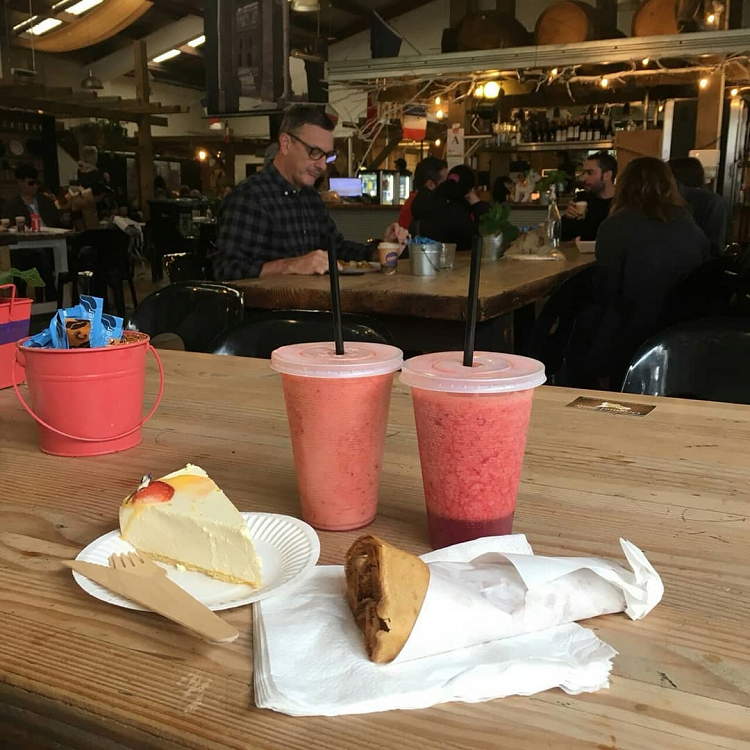 Drinks - the French Market, Auckland, New Zealand