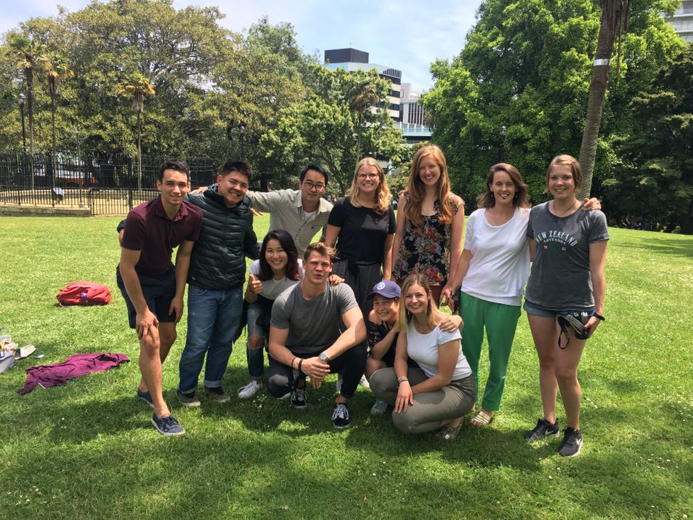 Tehei's English course in New Zealand
