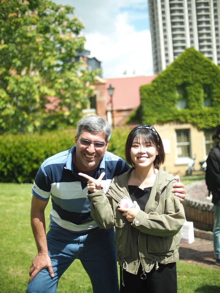 新西兰英文留学巴西的朋友