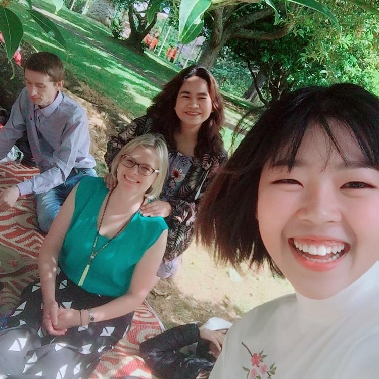 新西兰英文留学新朋友