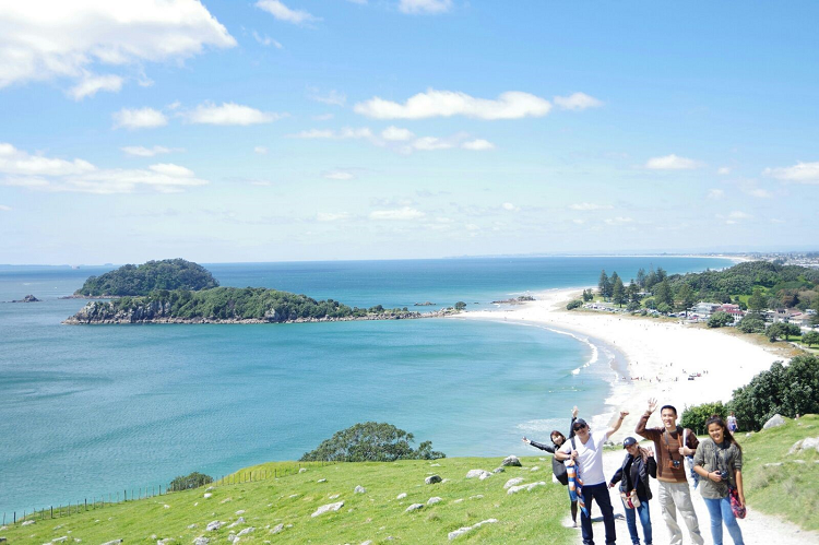 Learn English in New Zealand and Visit Mt Maunganui