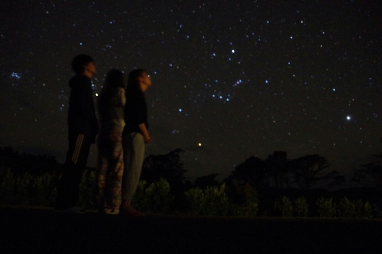 Stargazing in New Zealand