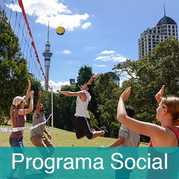 Actividades y Programa Social en Languages International in New Zealand