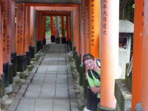 Sally at Fushimi Inari-taisha
