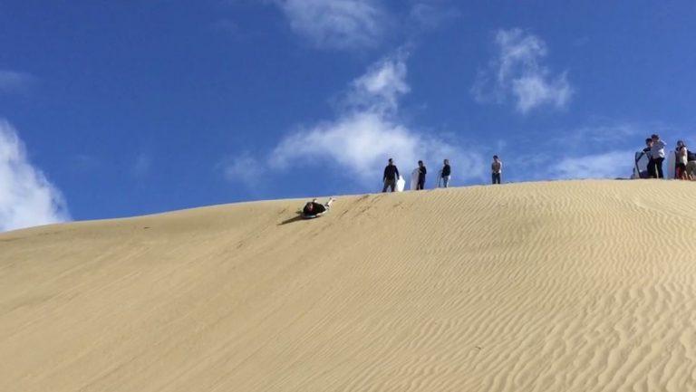 Sandboarding in New Zealand
