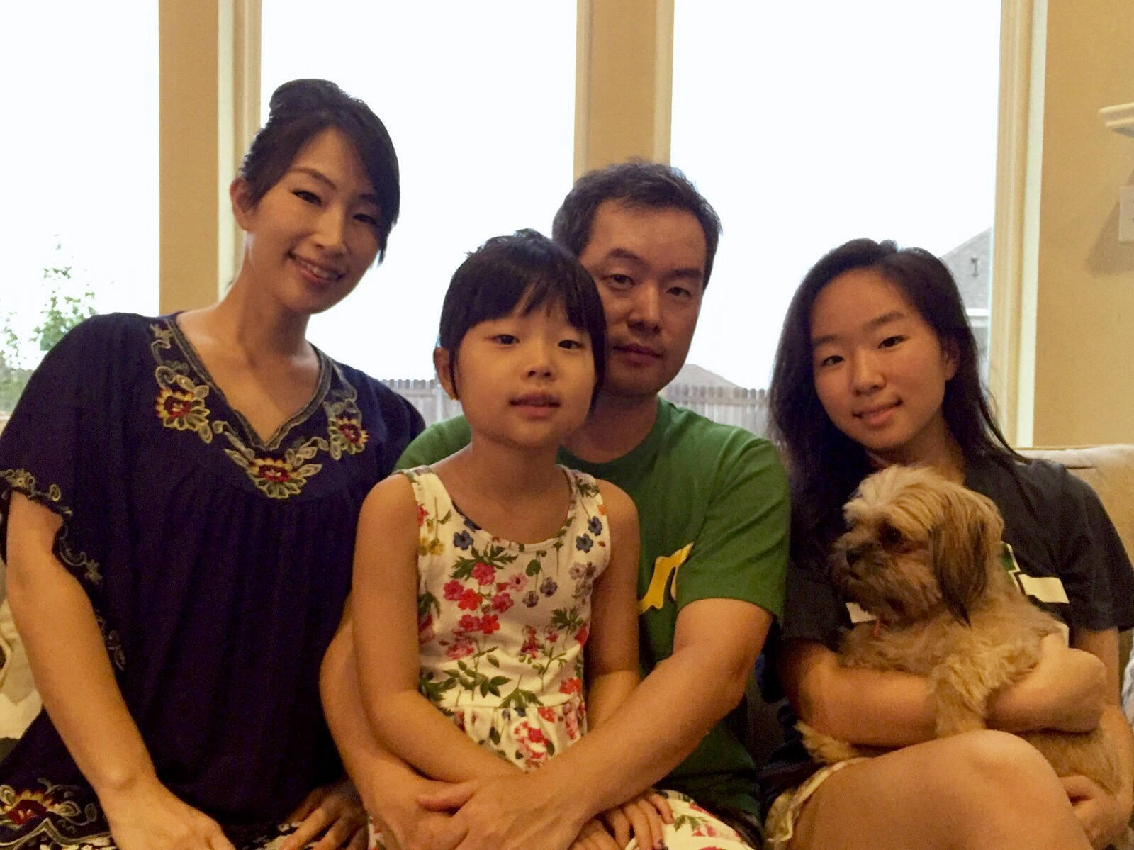 Tae and her family