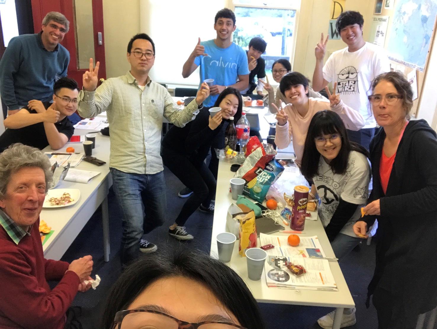 ประสบการณ์เรียนภาษาอังกฤษที่ Languages International School ที่เมืองโอ๊คแลนด์ ประเทศนิวซีแลนด์